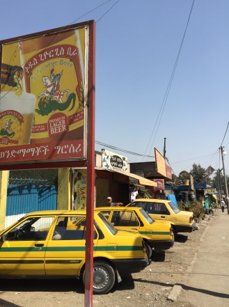 Cabs in Addis Abeba