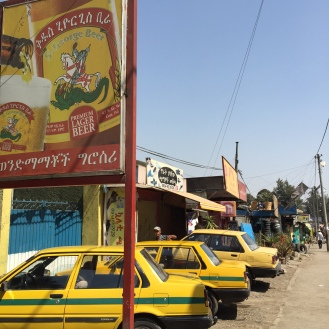 Cabs in Addis Abeba