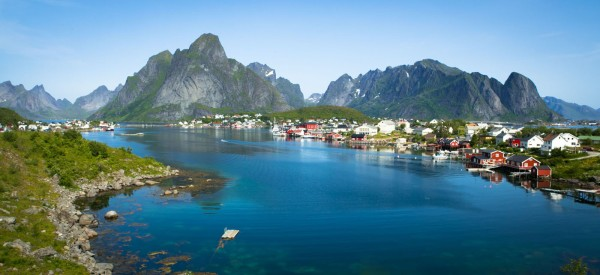 The fishing village of Reine.