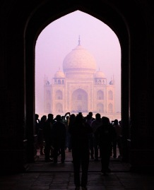 Word cannot describe the feeling to see Taj Mahal for the first time