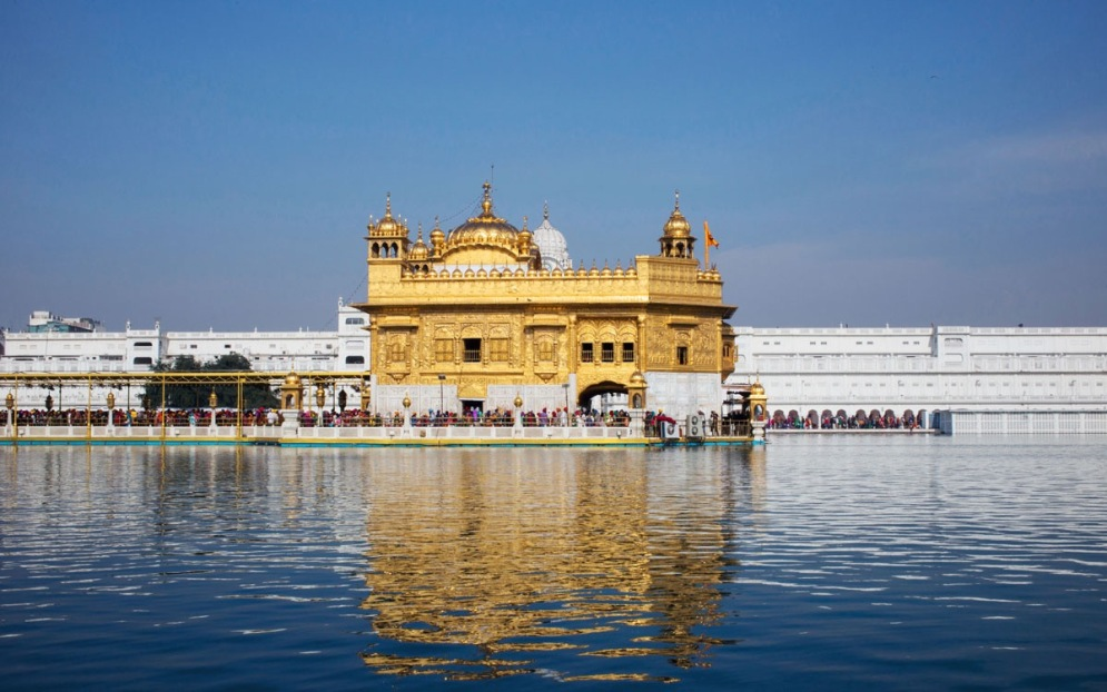 Harmandir Sahib, the Golden Temple