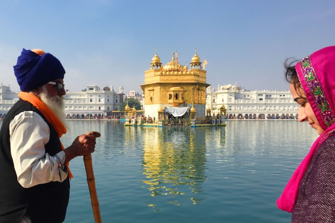 Harmandir Sahib, the Golden Temple for the Sikhs