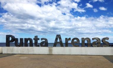 Punta Arenas beach front