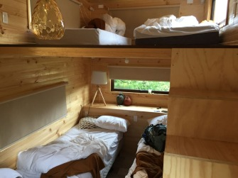 TinyHouse, my Christmas eve accommodation