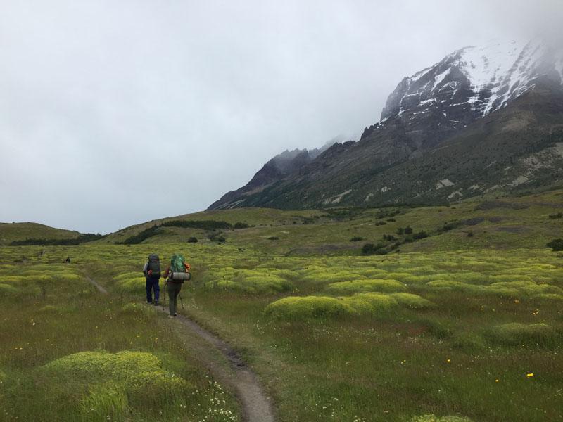 A rainy day hike