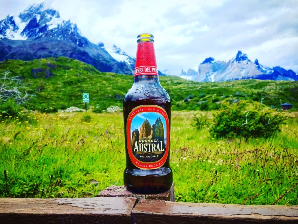 Cerveza Austral, a fantastic beer in a gorgeous afternoon