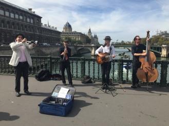 Swing sur la Seine